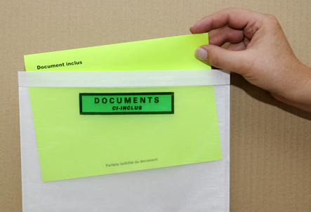 Envelope auto adesivo de papel